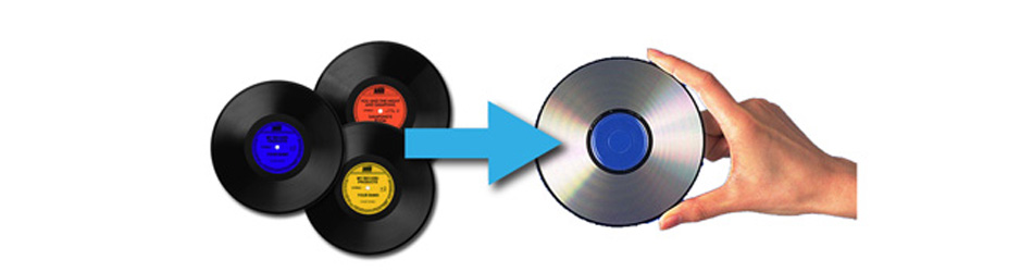 アナログレコード デジタル化 CD化 サービス